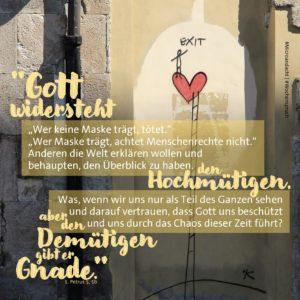 Microandacht von Pfarrerin Lisa Fuchs aus Oberhausen.