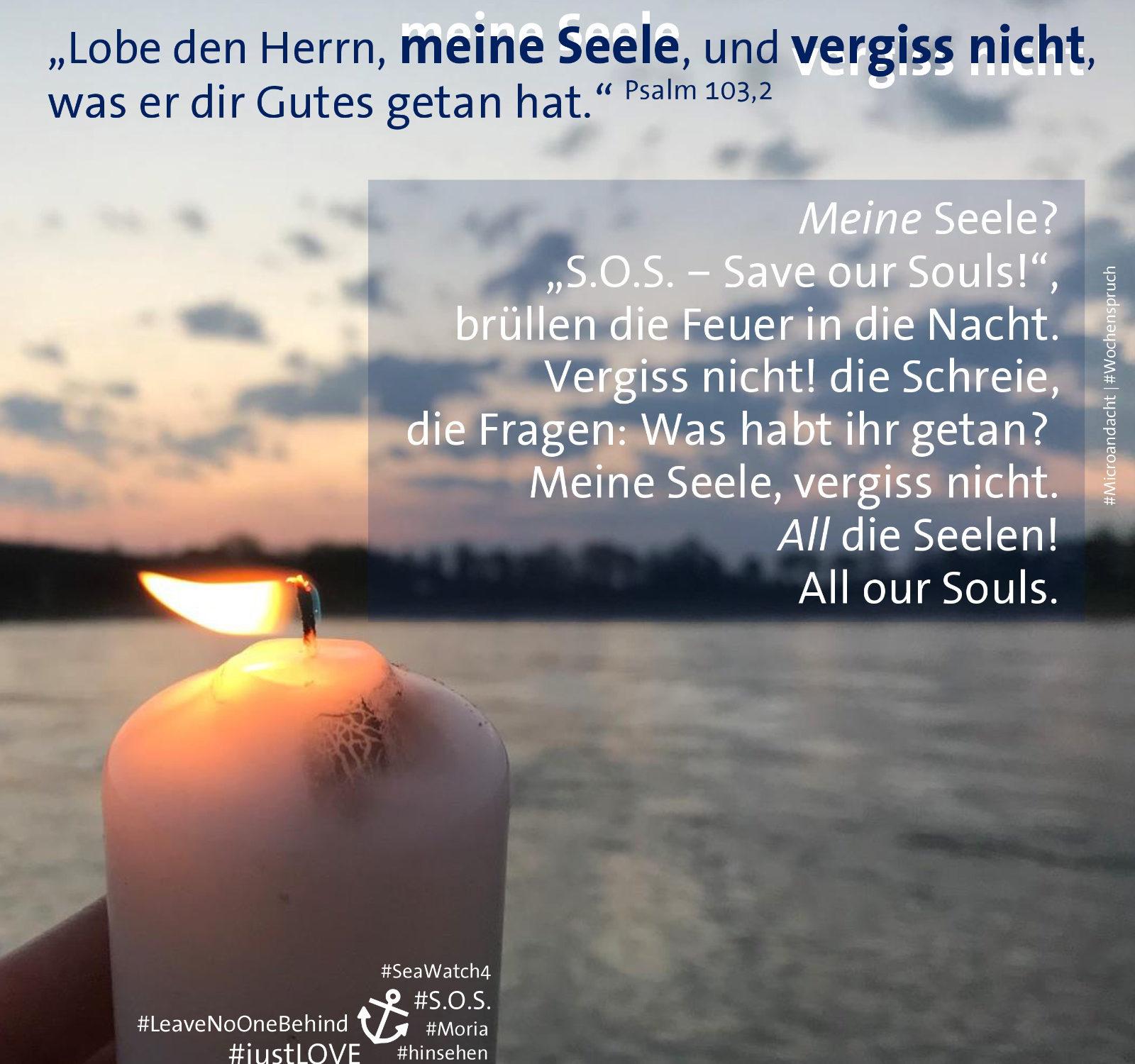 Die #Microandacht zum #Wochenspruch kommt in dieser Woche von Pfarrerin Anna Berkholz aus Neuss.